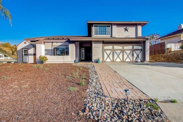 14351 Vista Panorama, Lakeside, CA 92040 (#210015744) :: Neuman & Neuman Real Estate Inc.