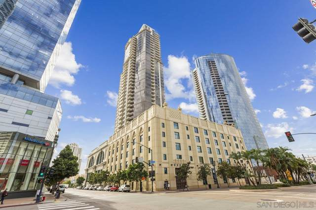 700 W E Street #301, San Diego, CA 92101 (#210019223) :: Neuman & Neuman Real Estate Inc.