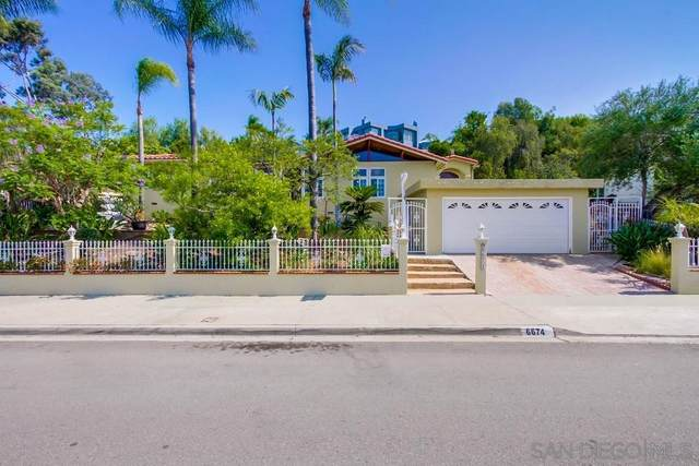 6674 Hillgrove Dr, San Diego, CA 92120 (#210019963) :: Wannebo Real Estate Group