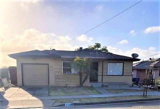 2410 Ridge View Drive, San Diego, CA 92105 (#210024621) :: Neuman & Neuman Real Estate Inc.