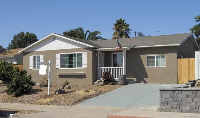 760 El Monte Rd, El Cajon, CA 92020 (#210025234) :: Carrie Filla & Associates