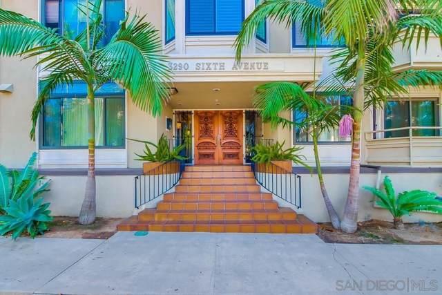 3290 6th Ave Unit 1A, San Diego, CA 92103 (#210025903) :: Solis Team Real Estate