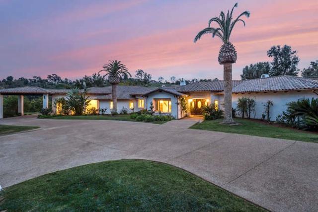 18203 Via De Sueno, Rancho Santa Fe, CA 92067 (#180019442) :: Whissel Realty