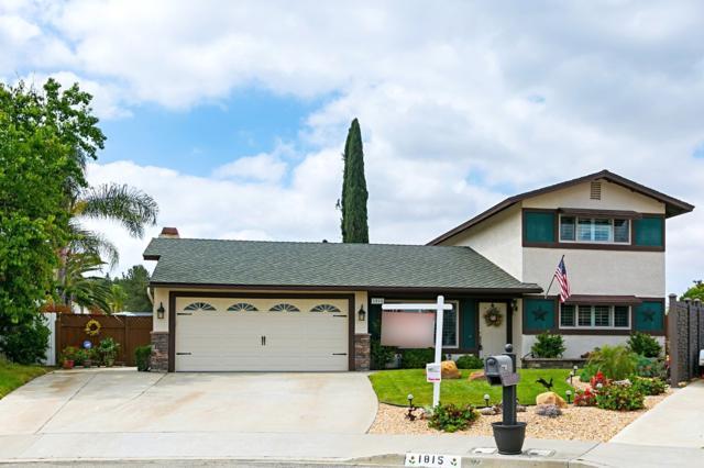 1815 Granero Place, Escondido, CA 92029 (#180023461) :: Heller The Home Seller