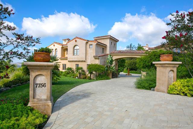 7756 Camino De Arriba, Rancho Santa Fe, CA 92067 (#180044129) :: The Yarbrough Group