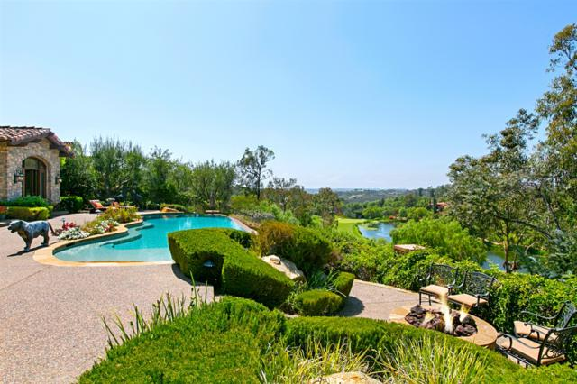 18446 Calle La Serra, Rancho Santa Fe, CA 92091 (#180046673) :: The Yarbrough Group