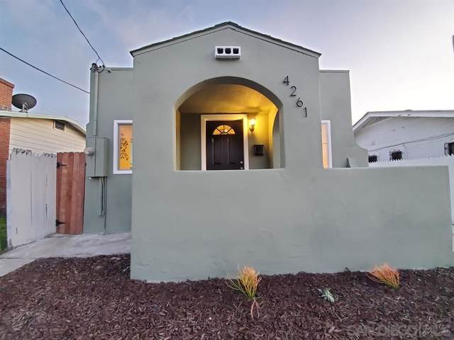 4261 Wightman St, San Diego, CA 92105 (#200003133) :: The Yarbrough Group