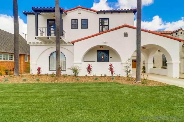 4368 Adams Avenue, San Diego, CA 92116 (#200014801) :: Whissel Realty