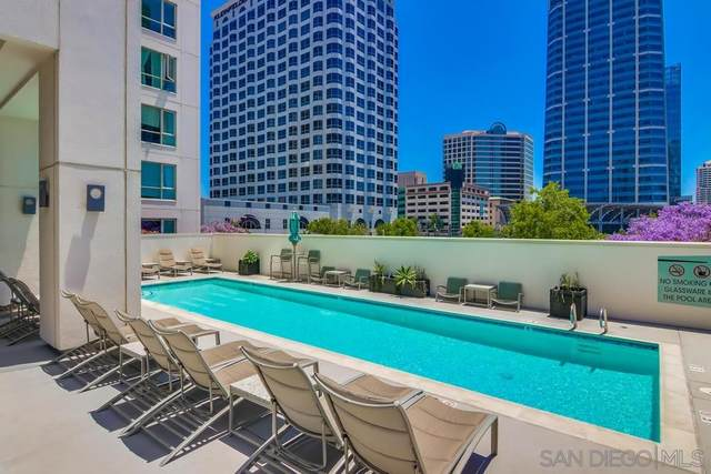 1277 Kettner Blvd #306, San Diego, CA 92101 (#200023579) :: Tony J. Molina Real Estate