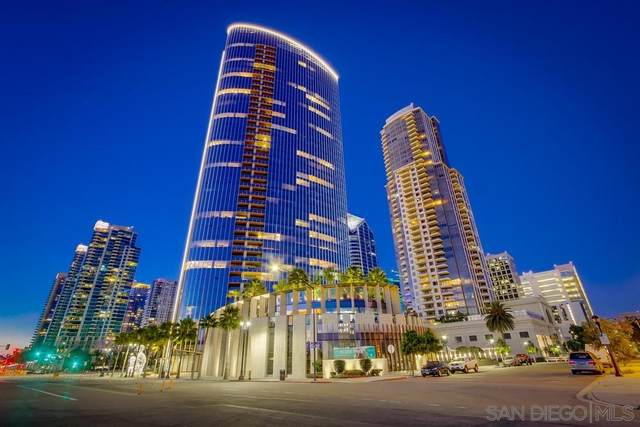 888 W W E St #1401, San Diego, CA 92101 (#200032489) :: Dannecker & Associates