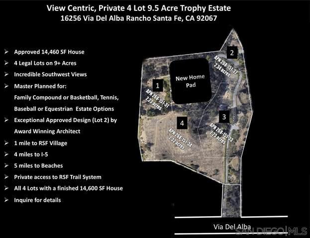16256 Via Del Alba 4 LEGAL PARCELS, Rancho Santa Fe, CA 92067 (#200041815) :: Neuman & Neuman Real Estate Inc.