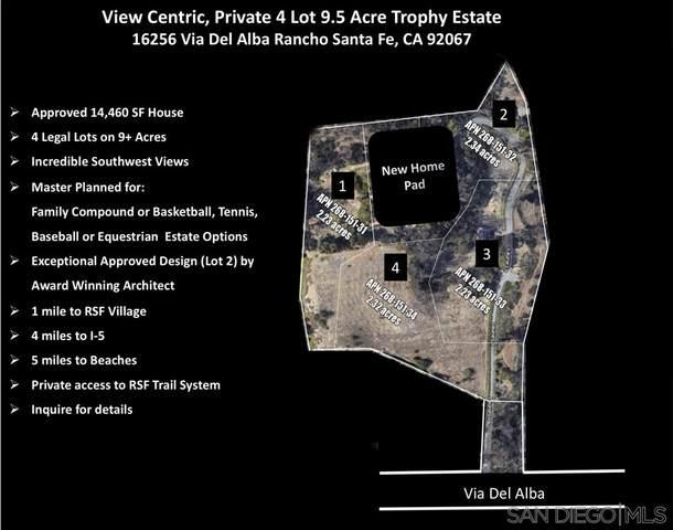 16256 Via Del Alba 4 LEGAL PARCELS, Rancho Santa Fe, CA 92067 (#200041828) :: Neuman & Neuman Real Estate Inc.