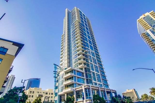 1262 Kettner Blvd #3102, San Diego, CA 92101 (#210000374) :: SunLux Real Estate