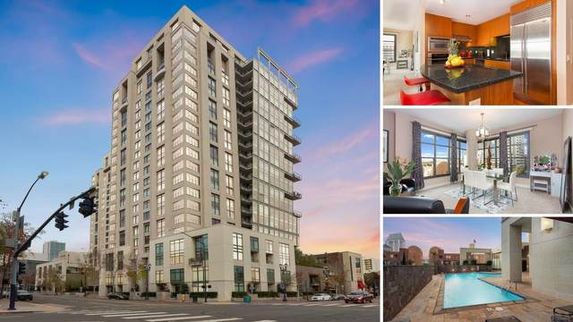 645 Front St #711, San Diego, CA 92101 (#210000375) :: Team Forss Realty Group
