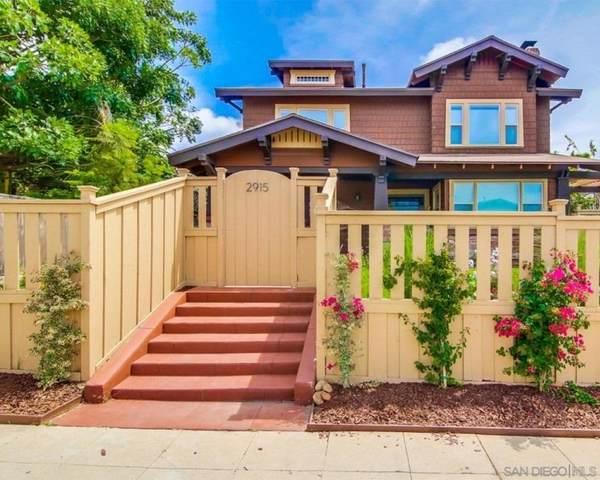 2915 30Th St, San Diego, CA 92104 (#210000838) :: Neuman & Neuman Real Estate Inc.