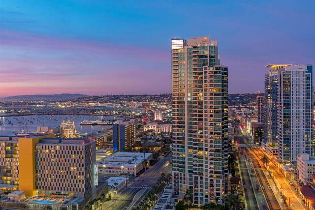 888 W E Street #2705, San Diego, CA 92101 (#210001608) :: SD Luxe Group