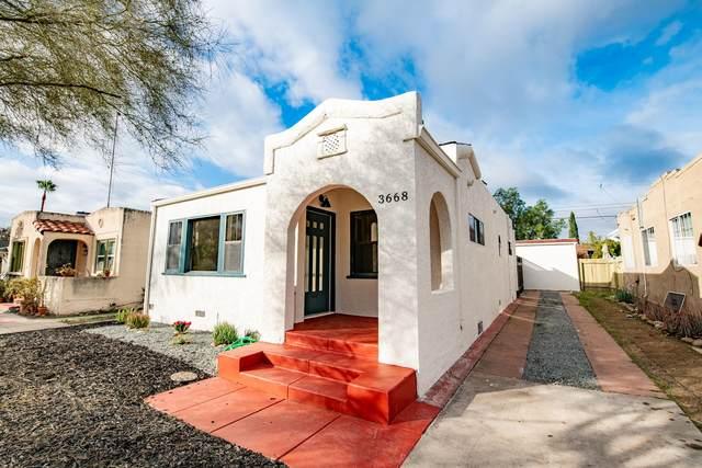 3668 33rd St, San Diego, CA 92104 (#210001902) :: Dannecker & Associates