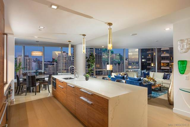 888 W E Street #2005, San Diego, CA 92101 (#210004133) :: SD Luxe Group