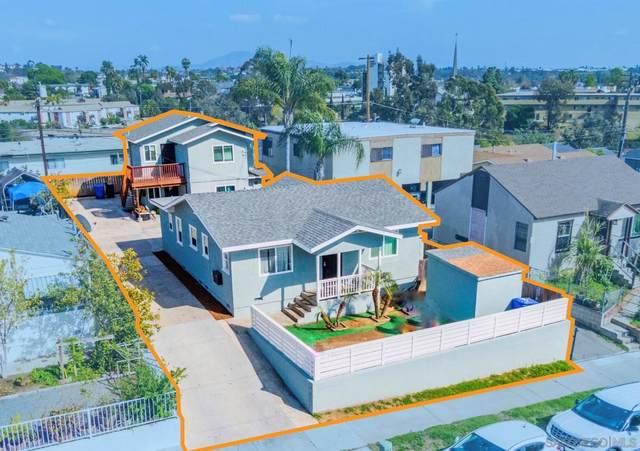 3827 Winona Avenue, San Diego, CA 92105 (#210010151) :: Keller Williams - Triolo Realty Group