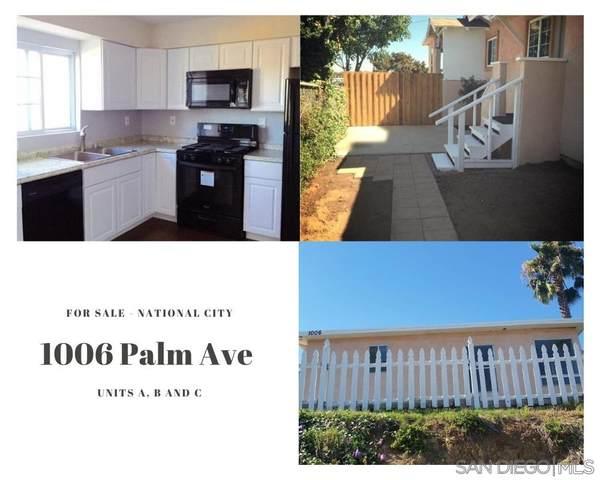 1006 Palm Ave, National City, CA 91950 (#210020393) :: Neuman & Neuman Real Estate Inc.