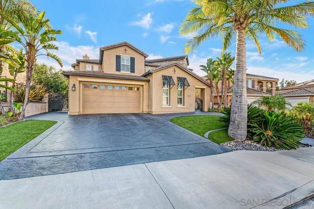 844 Hunters Ridge Pl, Chula Vista, CA 91914 (#210026468) :: Wannebo Real Estate Group