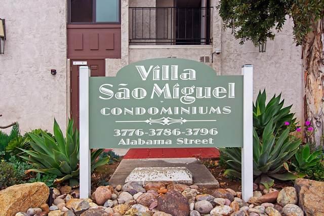 3776 Alabama St #307, San Diego, CA 92104 (#210027963) :: Keller Williams - Triolo Realty Group