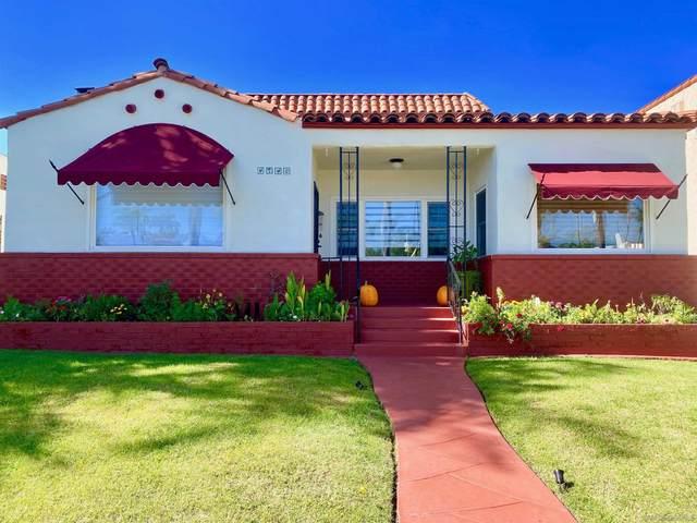 4940 Canterbury Drive, San Diego, CA 92116 (#210028527) :: Windermere Homes & Estates