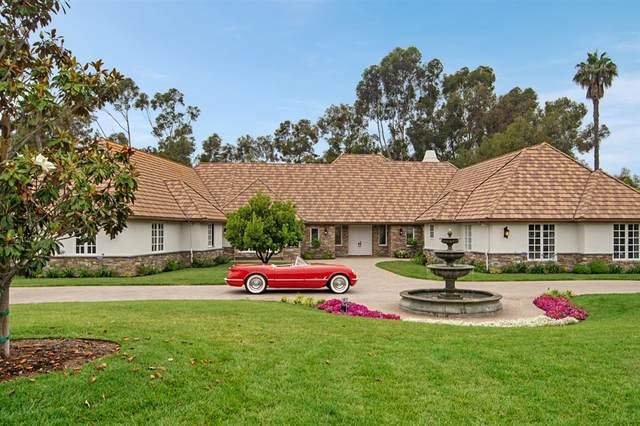16506 Via Lago Azul, Rancho Santa Fe, CA 92067 (#200029725) :: Whissel Realty