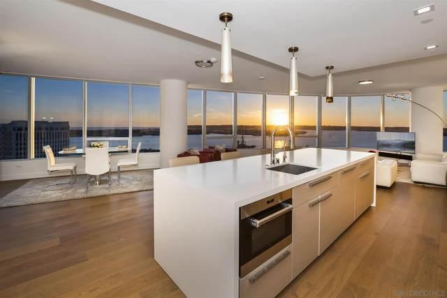 888 W E Street #2302, San Diego, CA 92101 (#210006045) :: Neuman & Neuman Real Estate Inc.