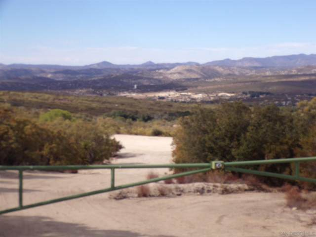 0 Encina Verde #42, Boulevard, CA 91905 (#200032569) :: Solis Team Real Estate