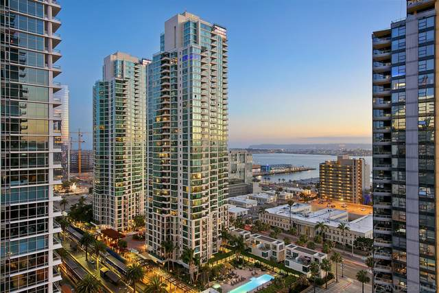 1388 Kettner Blvd #1807, San Diego, CA 92101 (#210001011) :: PURE Real Estate Group