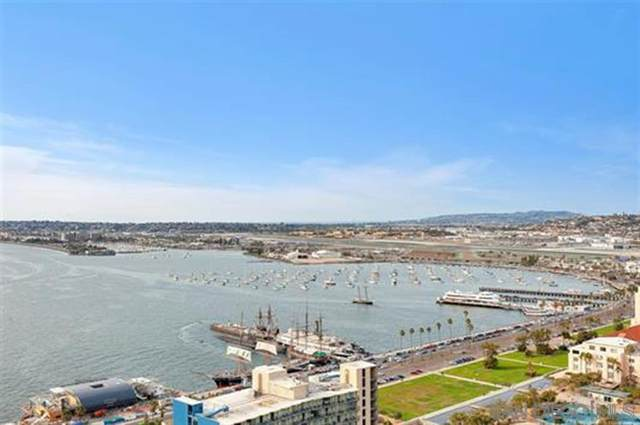1205 Pacific Highway #3003, San Diego, CA 92101 (#200021078) :: Tony J. Molina Real Estate
