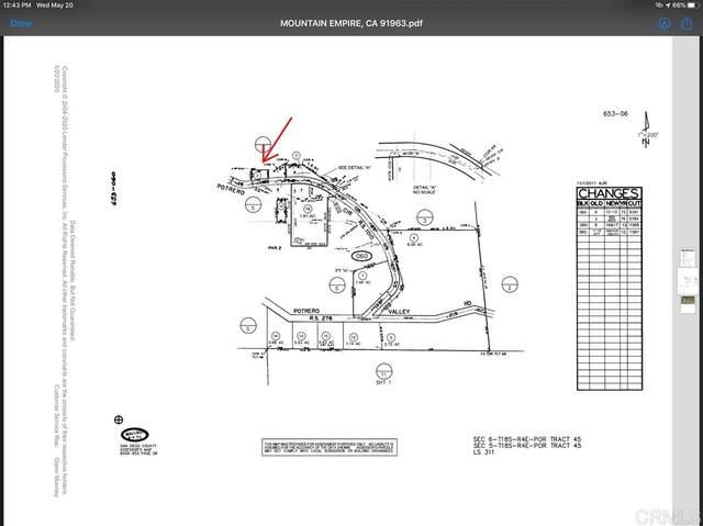 0000 Potrero Circle #0, Potrero, CA 91963 (#200021392) :: Neuman & Neuman Real Estate Inc.