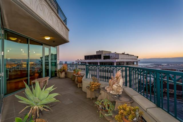 2500 6th Avenue Penthouse 4, San Diego, CA 92103 (#180035813) :: Whissel Realty