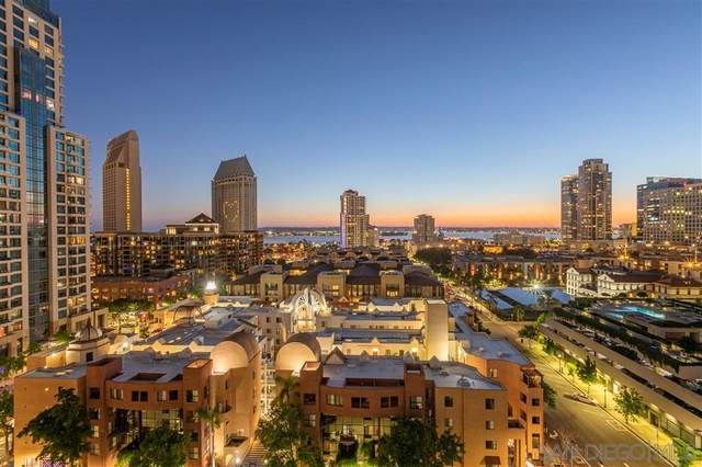 645 Front St #1306, San Diego, CA 92101 (#200031287) :: Whissel Realty