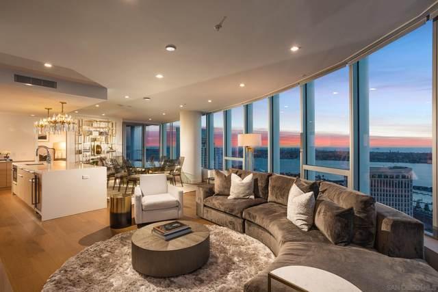 888 W E Street #3102, San Diego, CA 92101 (#210004137) :: SunLux Real Estate