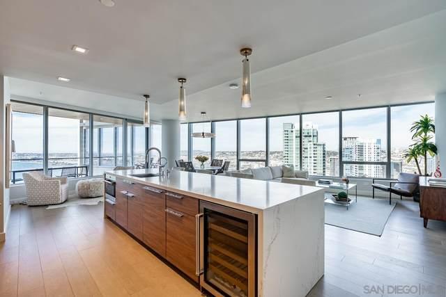 888 W E Street #3101, San Diego, CA 92101 (#210004472) :: Neuman & Neuman Real Estate Inc.