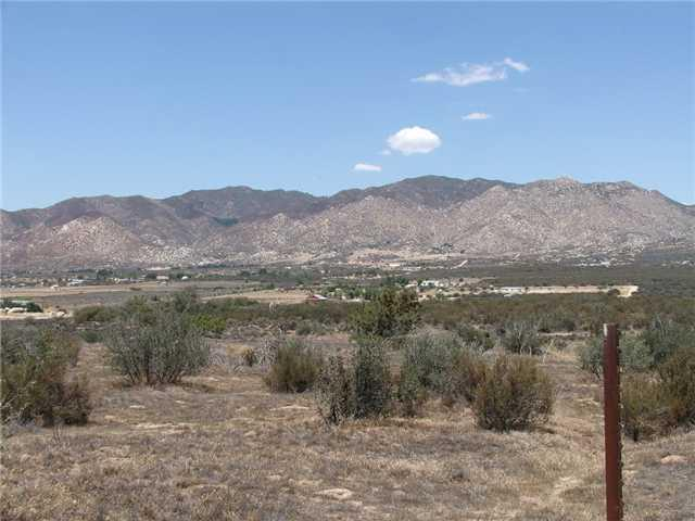 000 Montezuma Valley Road 197-160-28-00, Ranchita, CA 92066 (#130044044) :: Keller Williams - Triolo Realty Group