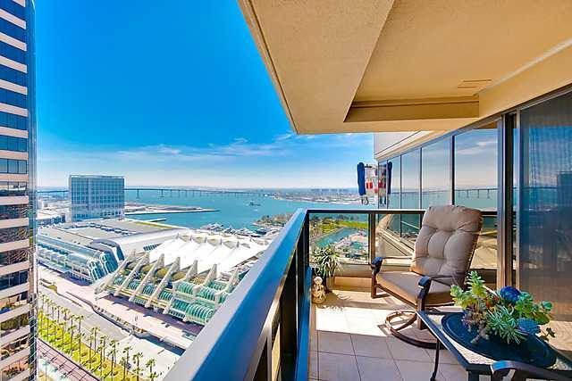 100 E Harbor Dr #2906, San Diego, CA 92101 (#170042769) :: Keller Williams - Triolo Realty Group