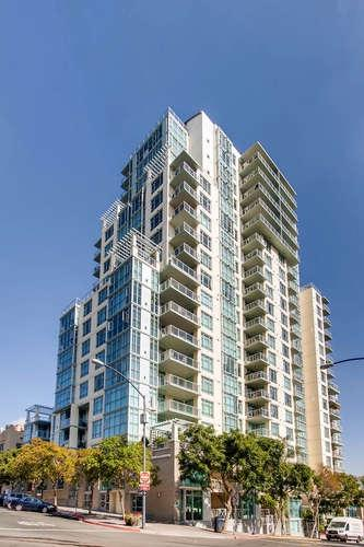850 Beech #209, San Diego, CA 92101 (#180001215) :: Whissel Realty
