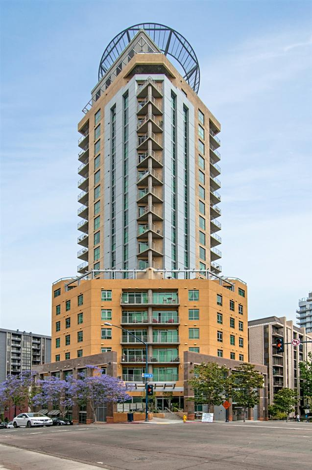 801 Ash Street #505, San Diego, CA 92101 (#180016135) :: Keller Williams - Triolo Realty Group