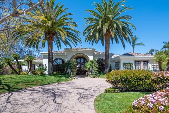 7423 Turnberry Ct, Rancho Santa Fe, CA 92067 (#180020994) :: Coldwell Banker Residential Brokerage