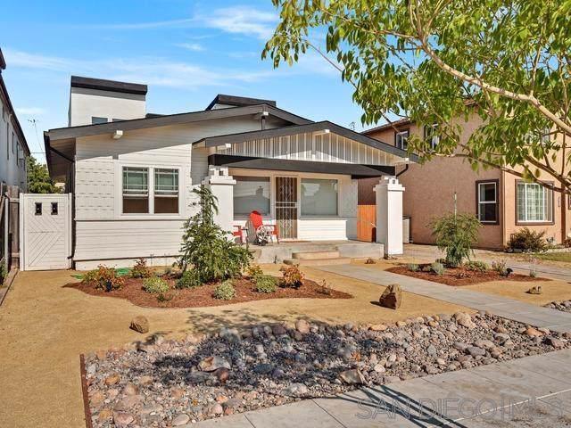 3681,3683,3685 Herman  Avenue, San Diego, CA 92104 (#190056362) :: Dannecker & Associates