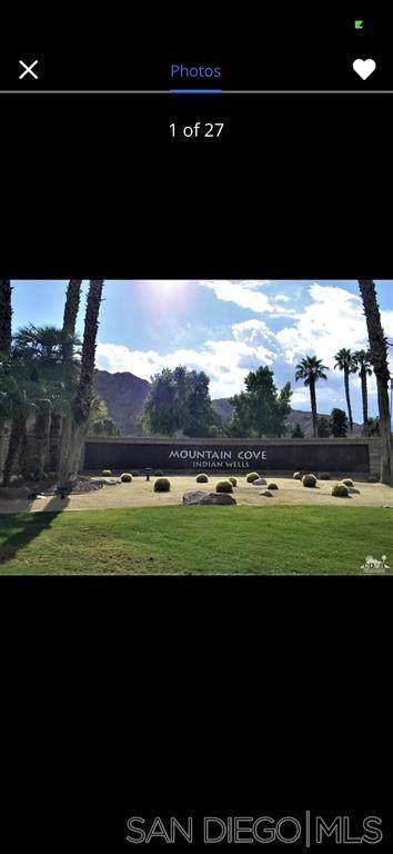 78180 Cortez Ln #161, Indian Wells, CA 92210 (#190061074) :: Neuman & Neuman Real Estate Inc.
