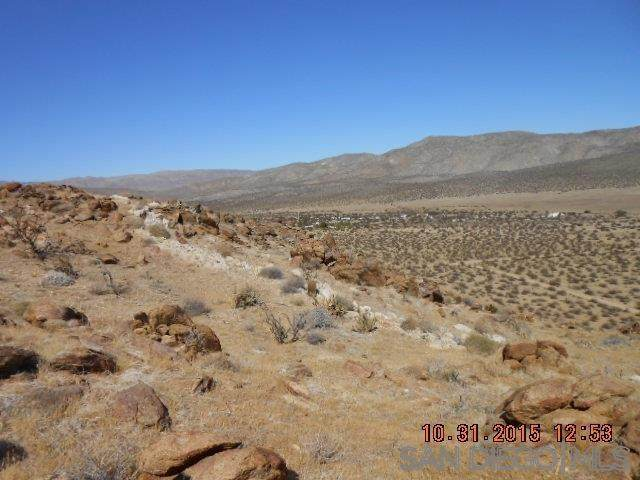 60 acres Great Southern Overland Acreage, Julian, CA 92036 (#200019753) :: Neuman & Neuman Real Estate Inc.