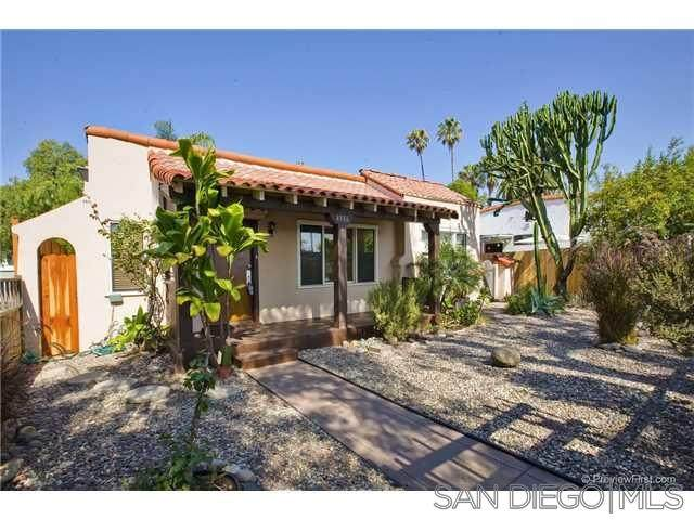 4386 Campus Ave, San Diego, CA 92103 (#200025045) :: Compass