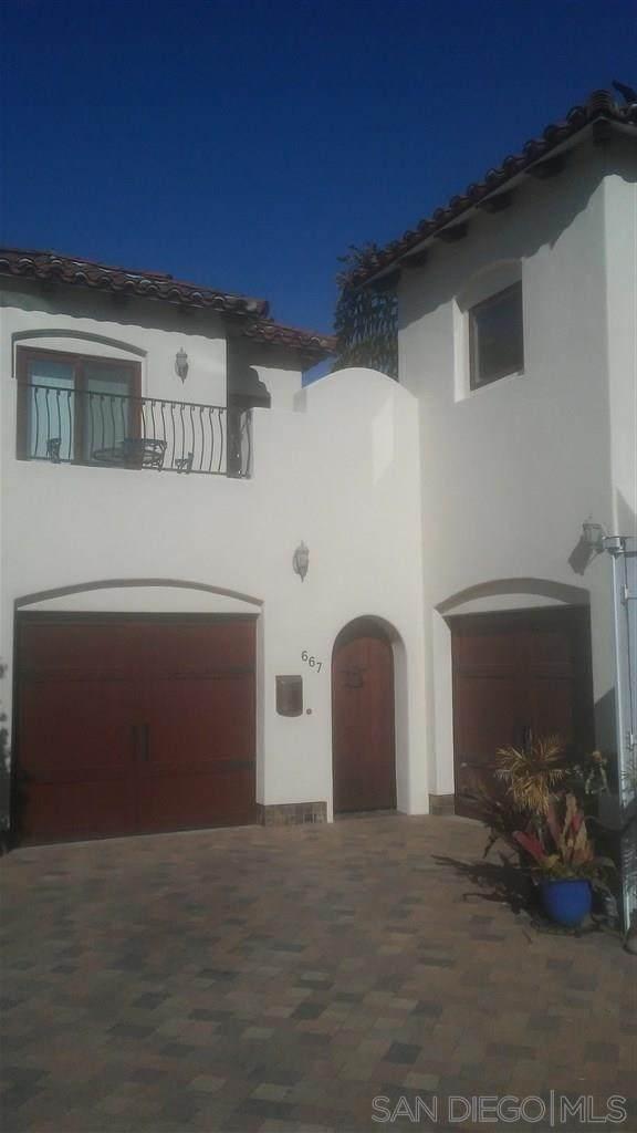 667 Pomona Avenue, Coronado, CA 92118 (#200033058) :: The Stein Group