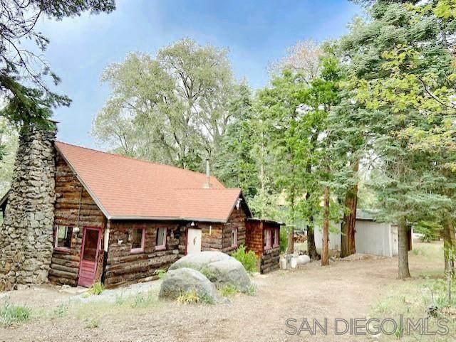 21950 Crestline Rd, Palomar Mountain, CA 92060 (#210014179) :: Neuman & Neuman Real Estate Inc.