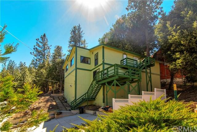 1342 Rock Ridge Drive, Lake Arrowhead, CA 92352 (#300969481) :: Coldwell Banker Residential Brokerage