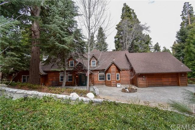 636 Crest Estates Court, Lake Arrowhead, CA 92352 (#300972043) :: Coldwell Banker Residential Brokerage